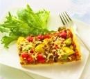 5 pizza met vegetarisch gehakt