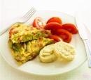 17 omelet met groene asperges