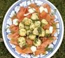 Jamie Oliver aardappelsalade met gerookte zalm