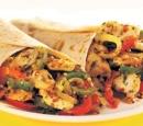 17 tortillas met kip, groenten en citroenmayonaise