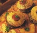 17 ananasburgers met pikante rijst