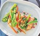 recepten vandaag zalm groenten papillote oven