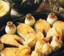 11 zalm met mosterdsaus