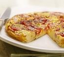 16 pittige tomaten-omelet