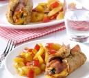 recepten_vandaag_Vleesrolletjes_met_ham_en_kaas_en_gebakken_aardappelpartjes