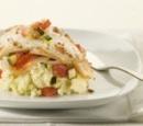 Eten Recept Vis Gebakken koolvis groente ratatouille aardappelpuree