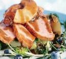 eten recepten vlees beenham ananas rozemarijnsaus