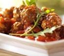 eten Recept Vlees Spaanse gehaktballetjes rucola