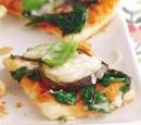 eten vandaag recept pizza Minipizza gegrilde groenten vegetarisch
