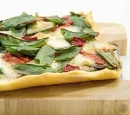 eten recept pizza Pestopizza peultjes paprika