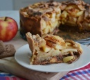 receptenvandaag appel speculaas taart