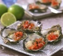 receptenvandaag oesters met tomatensalsa