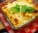 receptenvandaag pasta schotel uit de oven met pittige chorizo