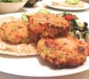 receptenvandaag groente - zalmburgers uit de oven
