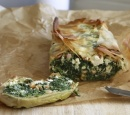 receptenvandaag filocake met spinazie, feta en cashews