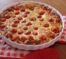 receptenvandaag Tomatenclafoutis met tuinkers