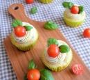 caprese cupcakes -recepten-vandaag
