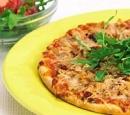 recepten vandaag pizza tonijn snelle tomatensalade