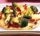 recepten vandaag pizza mozzarella broccoli