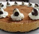 receptenvandaag Cheesecake met karamel en brownie