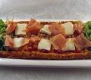 receptenvandaag Pizza met parmaham, mozzarella en rucola