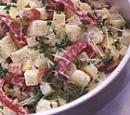 recepten vandaag salade aardappelsalade spekjes