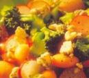 recepten vandaag salade maaltijdsalade broccoli stilton knoflookbrood