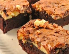 receptenvandaag Nutella cheesecake brownies