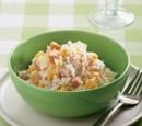 recepten vandaag salade maaltijdsalade rijst gerookte kipfilet