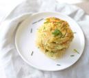 Recepten vandaag aardappelkoekjes met ham en bieslook