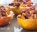 recepten vandaag gevulde appels met noten