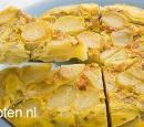 recepten vandaag spaanse aardappeltortilla