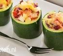 recepten vandaag gevulde mini courgettes