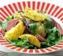 recepten vandaag salade aardappelsalade pesto salami