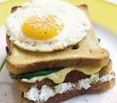 recepten vandaag brood croque madame spinazie