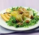 recepten vandaag herfst salade peer walnoot kaas