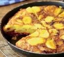 18 aardappeltortilla met chorizo