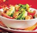 19 roergebakken tofu met paprika en broccoli