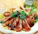 11 gegrilde tonijn met balsamicoazijn