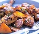 7 nigella lawson: langzaam gebraden kip met knoflook en citroen
