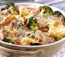19 tortellini bolognese uit de oven met broccoli en parmezaanse kaas