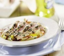 1 spaghetti met tonijn in balsamicoazijn