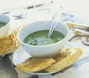 6 courgettesoep met gorgonzola