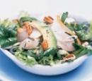 recept groene salade gerookte kip