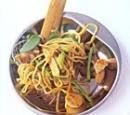 recepten kip noedels asperges peultjes