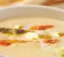 6 asperge- venkelsoep (vegetarisch)