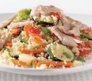 19 couscous-groentesalade met makreel