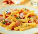1 macaroni met verse zalm