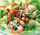 17 bloemkoolsalade met garnalen