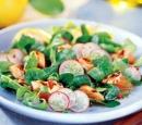11 salade met gegrilde zalm